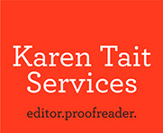 Karen Tait Services, editor, proofreader, melbourne